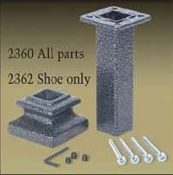 Iron Newel Mounting Kit