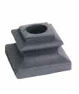 "1/2"" Flat Shoe for Round Baluster"